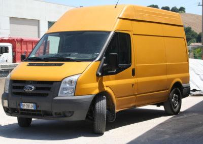 Autotrasporti Conto Terzi - Fir Trasporti Srl - Furgone
